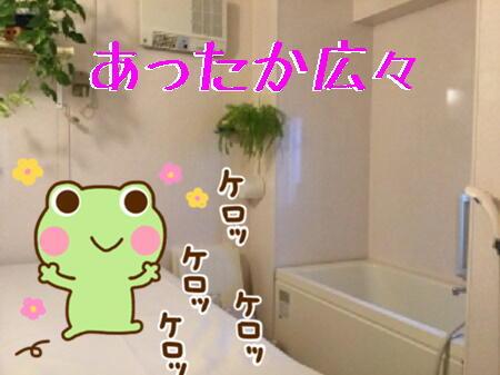 きれいなお風呂