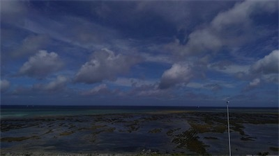 パルコからの干潟の風景D-TFRAjU0AIZkSF