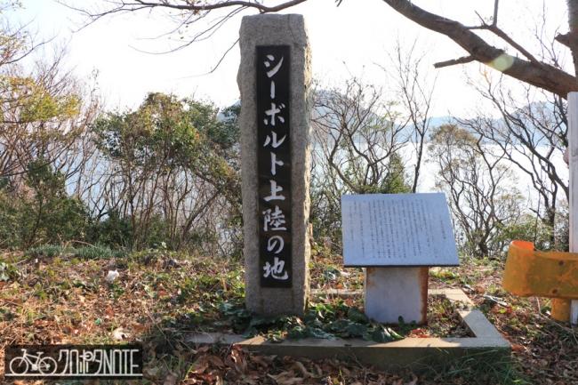 シーボルト上陸の碑