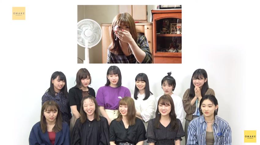 アンジュルム橋迫鈴《未公開映像》新メンバー発表のウラ側!!02