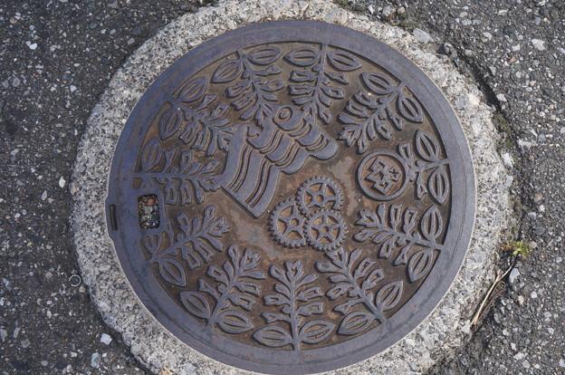桐生市マンホール