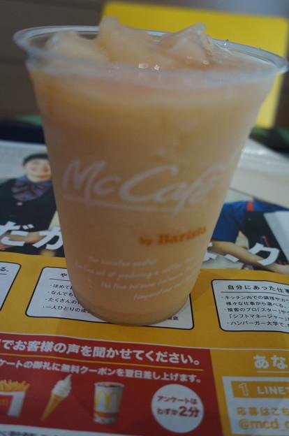 桃のスムージー2019