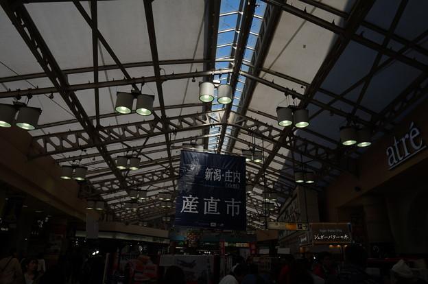 上野駅天井