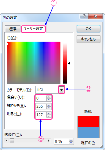 HSL設定1