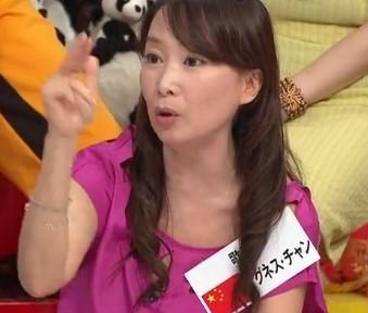 2012年9月25日に放送されたフジテレビ「なかよしテレビ」で、アグネス・チャンは「反日教育してない!日本の歴史教育はウソ!中国と韓国とアメリカが教えている歴史は一緒。日本の歴史だけ違う」などと発言し