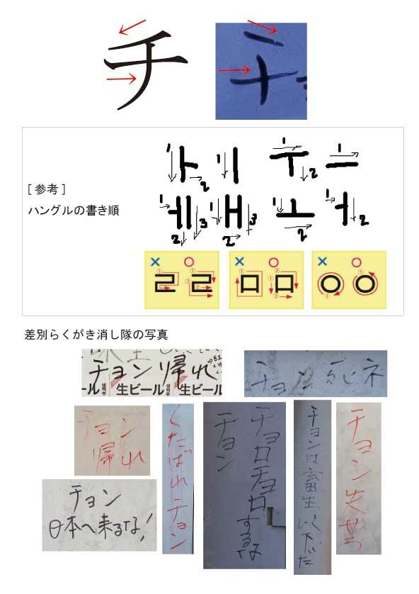 平成26年(2014年)には、新大久保で、朝鮮人が【自分たちで「差別落書き」を書いて、自分たちで消す】自作自演が発覚した!消し隊』が発足