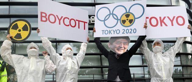 韓国の東京オリンピックボイコット運動