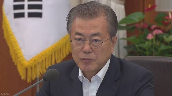 20190708文在寅が日本に警告「世界が憂慮!撤回と誠意ある協議を!韓国企業に被害が発生したら必要な対応」