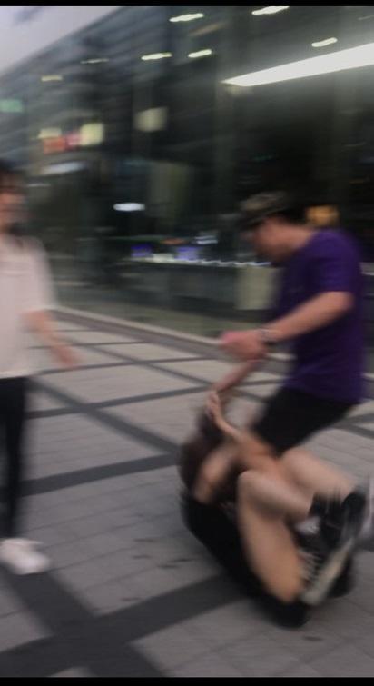 20190826韓国でナンパされ差別語吐かれ髪の毛引っ張られる暴行!韓国民「捏造だ」→韓国警察「捏造ではない」