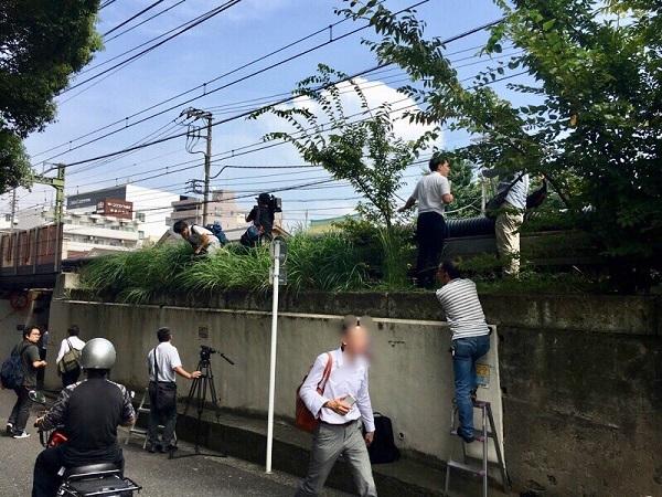 20190907京急事故の取材でNHKが犯罪行為!警察「犯罪ですから降りてください!いい加減!分かりましたか」