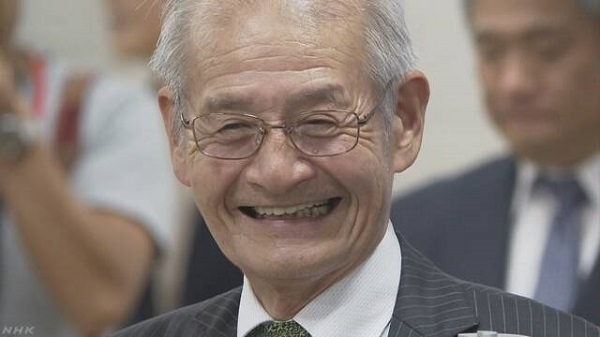 20191010ノーベル化学賞に吉野彰さん!リチウムイオン電池を開発・韓国がノーベル科学賞で日本を追い越す自信