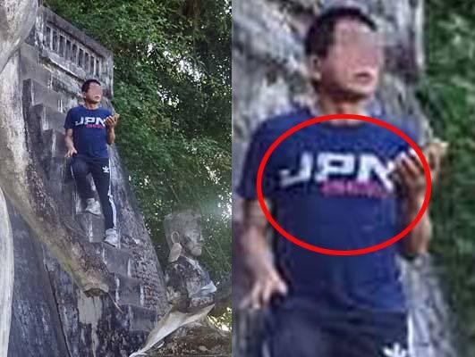 【卑怯な不逞鮮人】東南アジアで世界遺産に迷惑行為を繰り返す「アイ・アム・ジャパニーズ!」男を直撃!すると流暢な韓国語を…