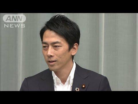 小泉進次郎環境大臣が会見ノーカット 改造内閣発足(19/09/11)