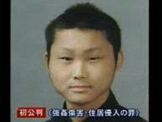 金寿明(松岡寿明) →韓国人 暴力団を装い大阪府内で12歳から24歳の女性18人を次々に脅して強姦