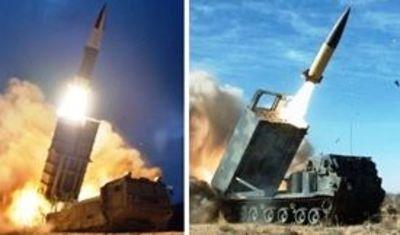左:北朝鮮が8月10日発射したとするミサイル 右:米軍のATACMS(出典)左:朝鮮中央通信8月11日、右:CSIS MISSILE THREAT