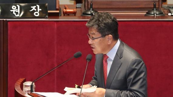ユン・サンジク議員「韓国が日に輸出したフッ酸99.7%が消えたのは何故?」 政府「韓 - 日フッ化水素統計記録の不一致。不良品を返品したから記録してないだけ」