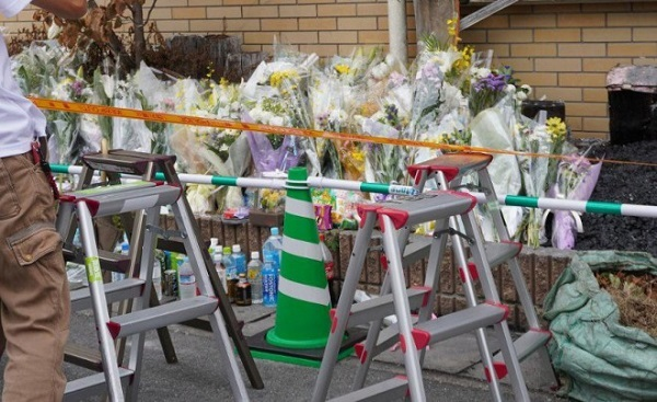 京都アニメーションへの献花、マスコミの酷さに批判殺到!「献花でマスコミに愕然」