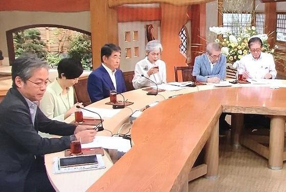 20190712 7日サンモニで田中秀征や青木理らが対韓輸出優遇除外について嘘や妄言を吐きまくって韓国に肩入れ