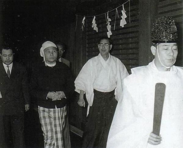 昭和35(1960)年3月23日 ビルマ(現ミャンマー) ウー=ヌー前首相