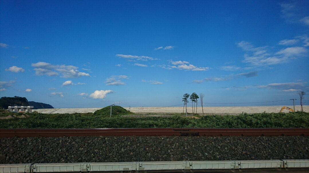 0829野田村の防潮堤