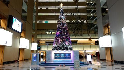 NSビル クリスマスツリー 2019