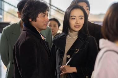 『全裸監督』 AV女優・黒木香を演じる森田望智。初めて見る顔だが大胆な絡みも堂々と演じていて度胸が据わっている。