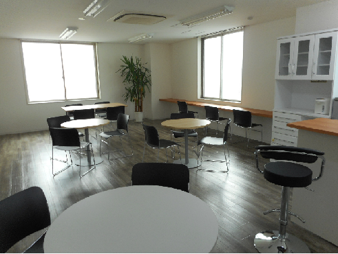 事務所カフェスペース