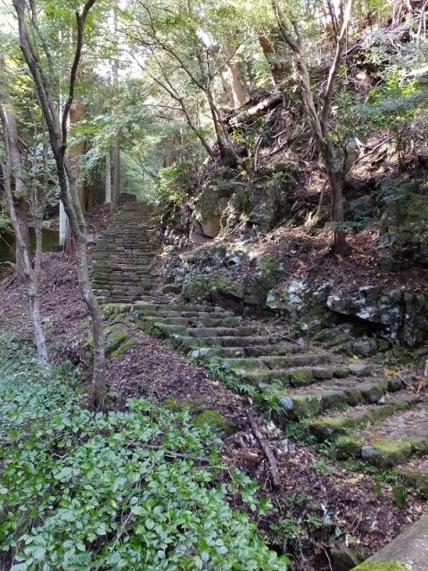 大山参道・女坂の階段
