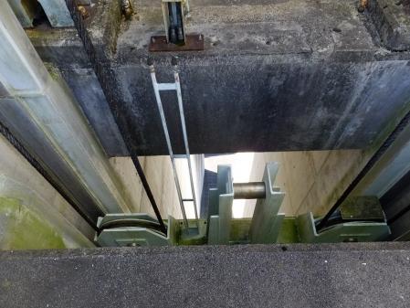 大門ダム・非洪水期常用洪水吐クレストゲート