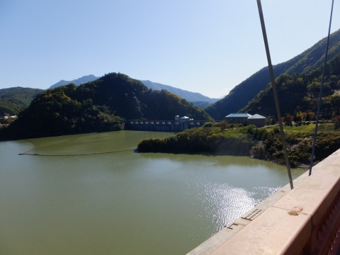 塩川ダムとみずがき湖