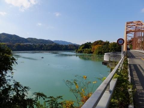 津久井湖と三井大橋