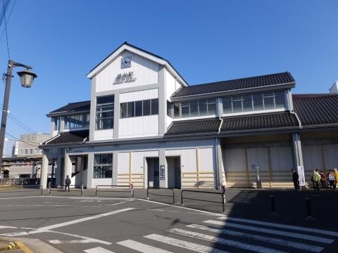 JR青梅線羽村駅西口