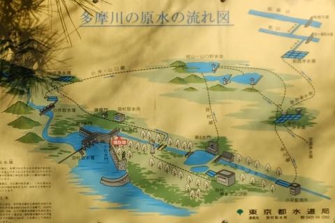 東京都水道局・多摩川の原水流れ図