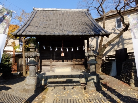 玉川水神社・東京都羽村市