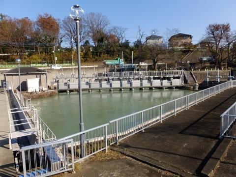 玉川上水から村山上貯水池向け分水施設