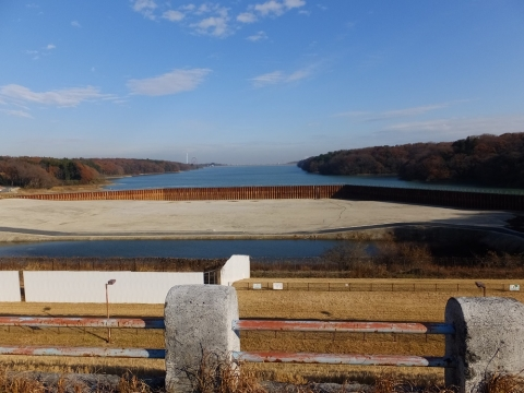 村山下貯水池(多摩湖)