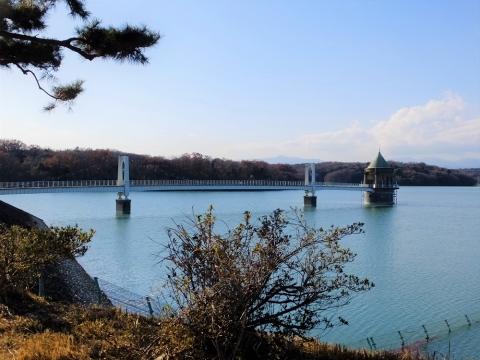 山口貯水池・第1取水塔
