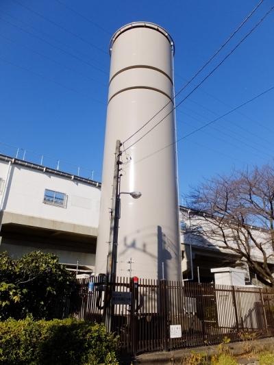 東京都水道局東大和調圧水槽