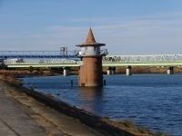 金町浄水場・第二取水塔