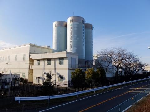 東京都水道局金町浄水場
