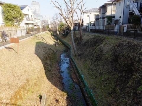 玉川上水開渠・渋谷区笹塚1丁目
