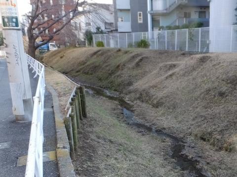 開渠の玉川上水旧水路
