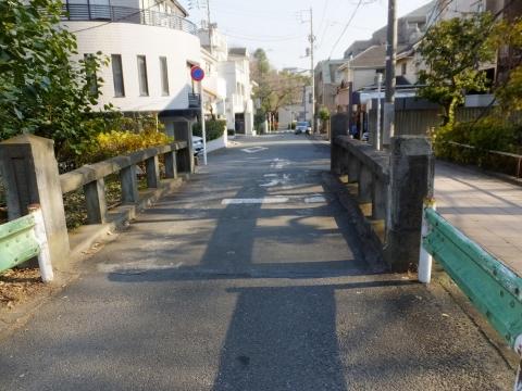 玉川上水旧水路緑道・相生橋