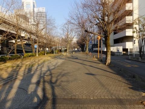 玉川上水旧水路緑道・渋谷区初台
