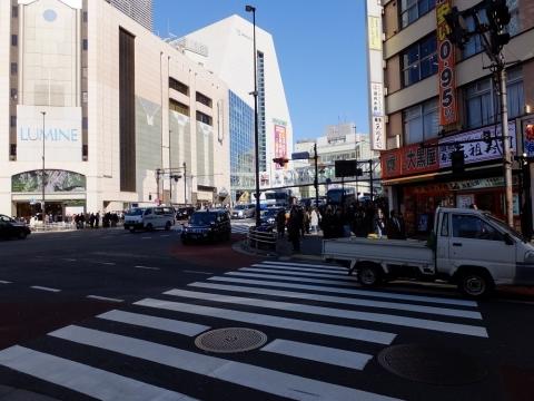 甲州街道・新宿駅南口付近