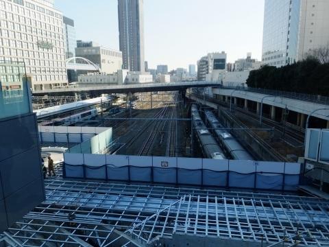 バスタ新宿南側デッキからの眺め