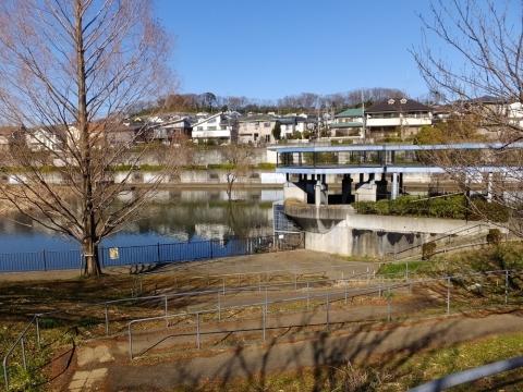 広袴公園調整池