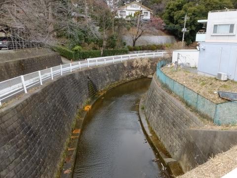 麻生川・津久井道北側