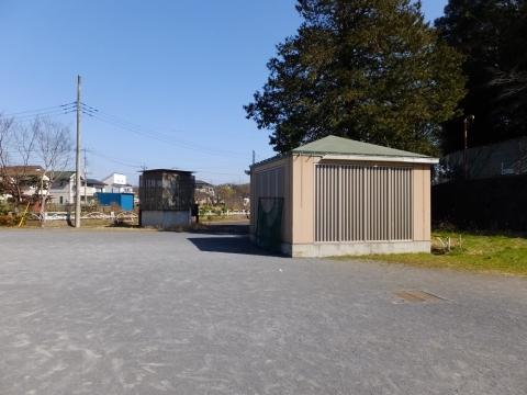 恩廻公園内の空気抜孔と管理立坑