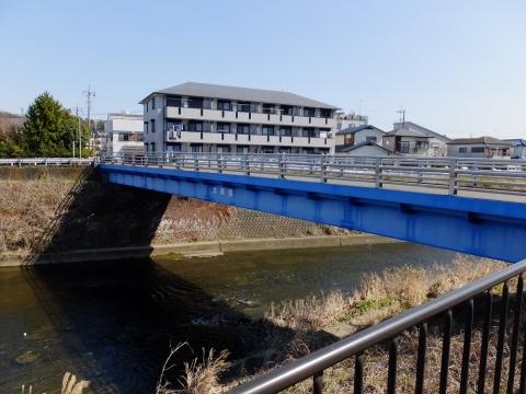 鶴見川の水車橋